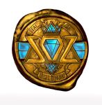 Seal of Solomon Album logo by EisArt