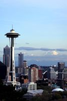 Space Needle from Queen Anne by JazzyPhoto