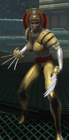 Lady Deathstrike (DC Universe Online) by Macgyver75