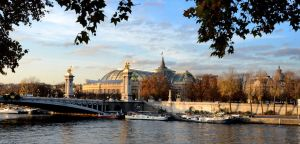 Grand Palais derriere la Seine by joseluisrg