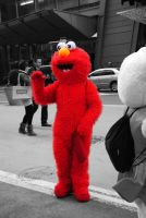 Elmo by Vicarious-Trances