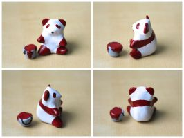 Red Handed Panda [Body Shot] by lonelysouthpaw