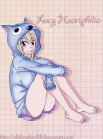 Lucy Heartphilia by Chidorichan93