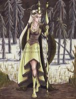 Queen on the White Marsh by TinyQ