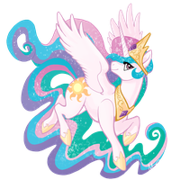 Princess Celestia by MegSyv