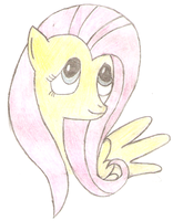 Fluttershy by PPDraw