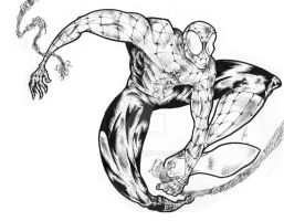 Spiderman Fan Art Inked!!! by JAs-0