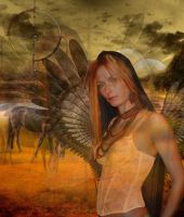 Native American Dream by CuLyMonster