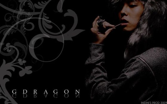 G-Dragon Wallpaper by inidiniconanblue