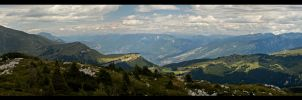 Skyline of the alps by Dee-ehn