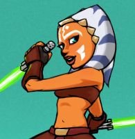 Ahsoka Tano by Tourbillon-da