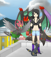 Valerie - Pokemon style by Artist-Of-The-Future