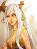 Dragon Nest: Lunaria by DiWine-Waro
