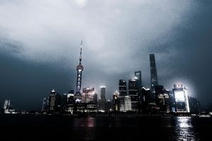 Shanghai Pudong, Oriental Pearl Tower by aperture24