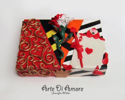 Queen of Hearts Box by ArteDiAmore