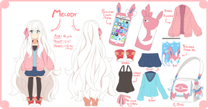 Melody Reference Sheet by Tomikoi