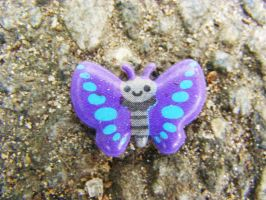 Smiley Butterfly by Oxis
