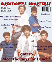 Fake Magazine Cover by iluvlouis