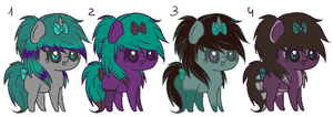 Scene Ponies Auction :Closed: by ViolaAdopts