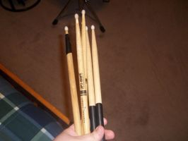 Maybe I should get some new drumsticks by tehInvisible
