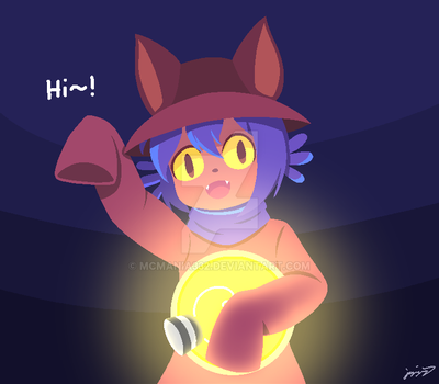 [OneShot] Niko the Cat by MCMania332