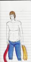 Connor Shirtless-traditional ver by aura102