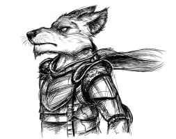 Wolf Warlord by Temiree