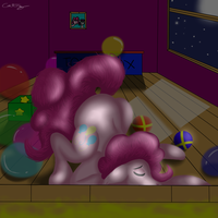 Pinkie Partied Out by catz537
