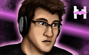 Markiplier face test by Bridgeotto