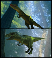 Generic T-Rex by Natal-ee-a
