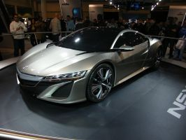 Acura NSX Concept by mncamaro