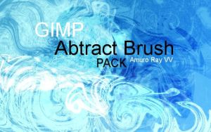 Gimp Abtract Brush Pack 1 by Amuro-Ray-VV