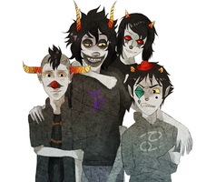 Juggalo Trolls by madmanwithabowtie