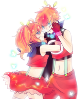 UTAU: Magnet - Akane Selfcest by apple-kuun