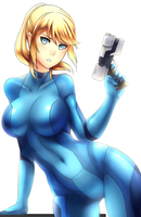 Samus by ragecndy