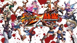 Street Fighter X Tekken girls Wallpaper by casu90