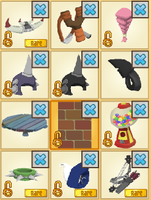 Animal jam - Points for items 3 OPEN by xTigerWolfx
