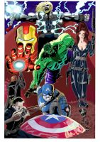 Avengers Color by RadPencils