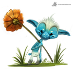 Day 818# Smurf by Cryptid-Creations