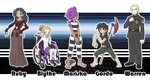 Commission - Yondaime22 Elite four by Cid-Fox