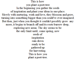 How to Plant a Poet-Tree by Manda-of-the-6