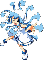 Ika musume vector by Graphicsmith