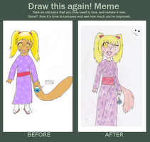 Draw this again meme by stephaniescarlet