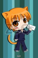 Kyo - Fruits Basket by EstudioZoo