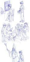 06_03 Dumbledore At the Dursleys by kuabci