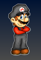 Rock Mario by MushroomWorldDrawer