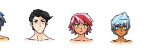 Next Gen Humanized Headshots 2 by kilala97