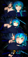 [DMMDxMMD] Ren's Bad end.... Or is it? (4Koma) by AochiYoruneko