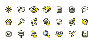 Vector icons 6 by Andy3ds