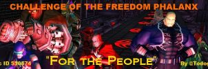 For the People banner - Freedom Phalanx by Todogut